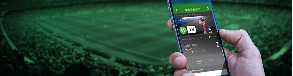 Unibet application IPhone