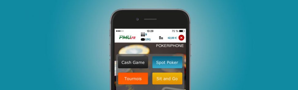 PMU bonus de l'application mobile