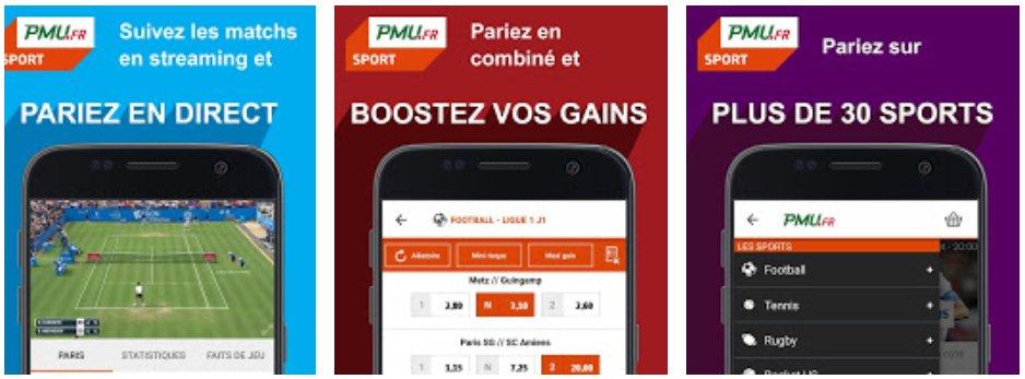 applications PMU mobile